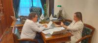 Состоялась рабочая встреча Президента Ассоциации с заместителем Генерального директора – Руководителем аппарата ПАО «Россети Сибирь»